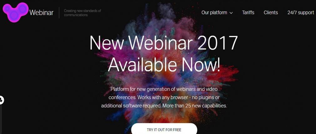 Localization of the site www.webinar.ru in English